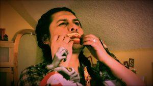 Still image from Distancias film